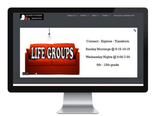 Dover Student Ministry Website